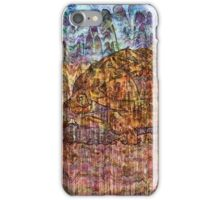 Desert Varnish - Namibian Highway iPhone Case/Skin
