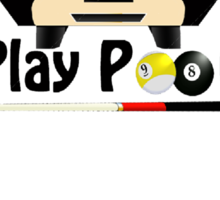 Rather Play Pool Sticker