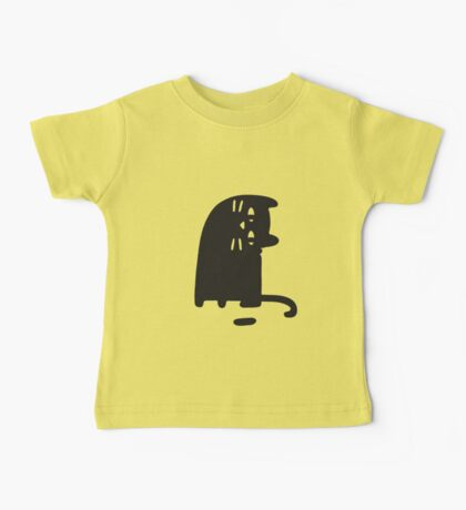 Cat Looking at a Thing Baby Tee