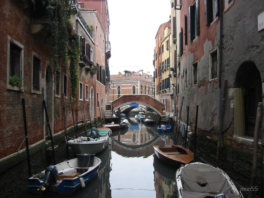 Peaceful Venice Canal by mon55