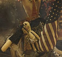 Country Primitive Rag Doll by vigor