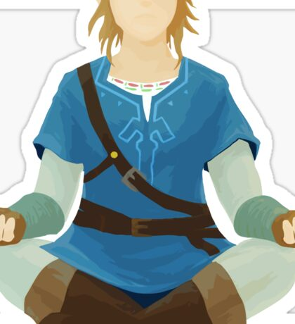 Link Meditation Sticker