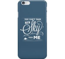 Flying Under the Stars iPhone Case/Skin