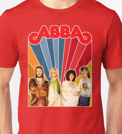 AGNETHA, BENNY, FRIDA, BJORN early 70's design Unisex T-Shirt