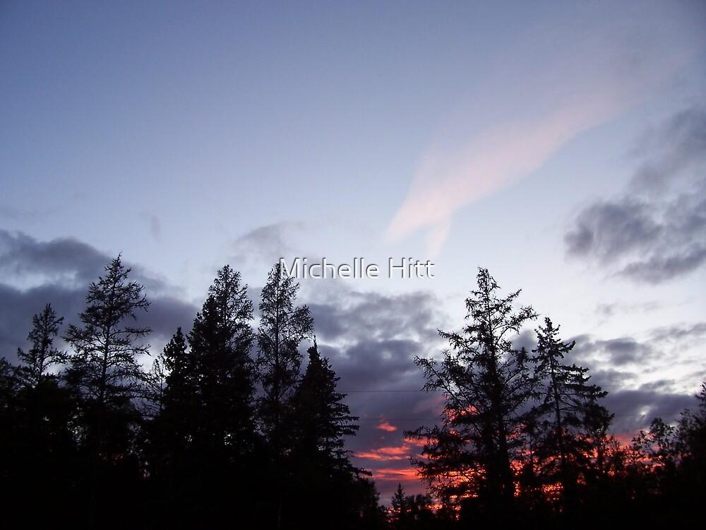 Northern Sunset by Michelle Hitt