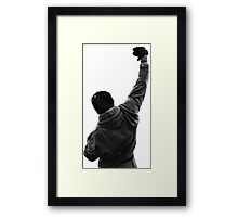 Holy Rocky. Framed Print