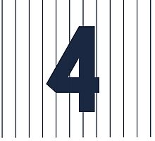 Lou Gehrig Design by canossagraphics