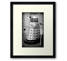 Old Fashioned Dalek Framed Print