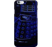 Neon Blue Dalek iPhone Case/Skin