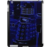 Neon Blue Dalek iPad Case/Skin