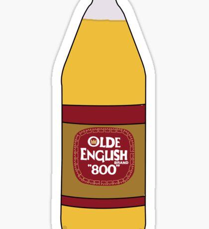 Olde English - 40 Oz Sticker