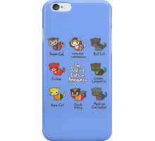 The Justice Cats of Ameowrica iPhone Case/Skin