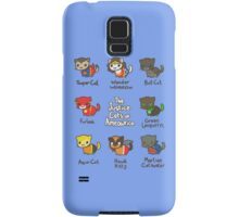 The Justice Cats of Ameowrica Samsung Galaxy Case/Skin