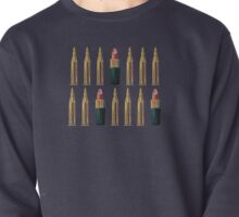 Lipsticks and Bullets Pullover