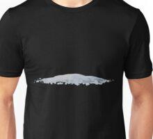 Glitch Groddle Land snow patch 4 Unisex T-Shirt