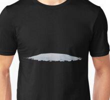 Glitch Groddle Land snow patch 5 Unisex T-Shirt