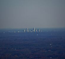 Winston-Salem from 30 miles away by paulboggs
