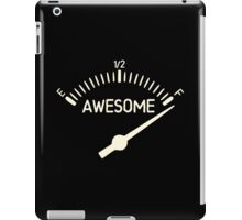 So Full of Awesome Gauge iPad Case/Skin