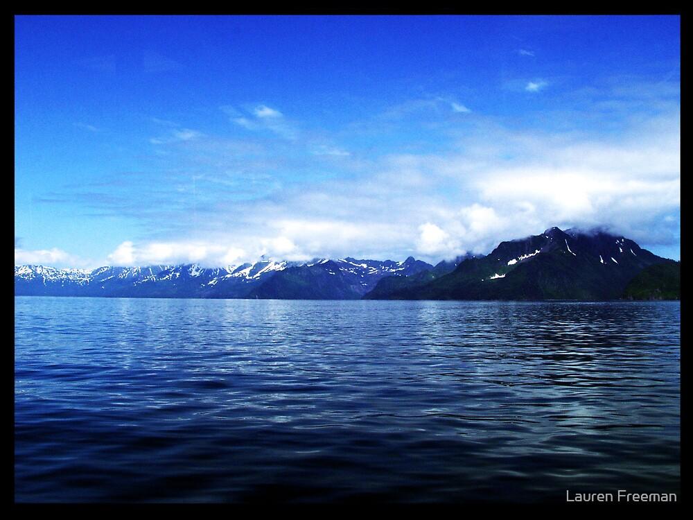 Alaska Mountains by Lauren Freeman
