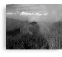 In The Clouds II Metal Print