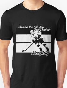 On the 8th Day - God Created Doughty Opt. 1 Unisex T-Shirt