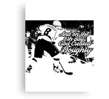 On the 8th Day - God Created Doughty Opt. 2 Canvas Print