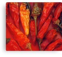 Hot hot hot... Canvas Print