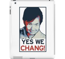 Yes We Chang! iPad Case/Skin
