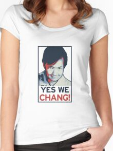 Yes We Chang! Women's Fitted Scoop T-Shirt