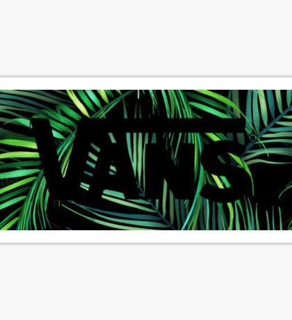 Vans- Leaves Sticker