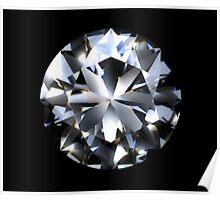 Diamond (black) Poster