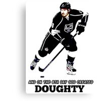 On the 8th Day - God Created Doughty Opt. 4 Canvas Print
