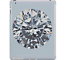 Diamond (on silver) iPad Case/Skin
