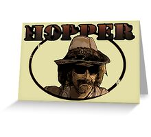 Dennis Hopper - Unsung Heroes Greeting Card