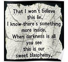 Black Veil Brides: Sweet Blasphemy Poster