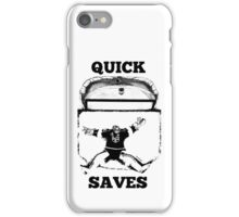 Quick Saves - Opt. 1 iPhone Case/Skin