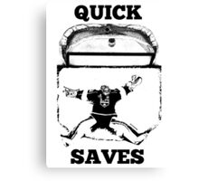 Quick Saves - Opt. 1 Canvas Print
