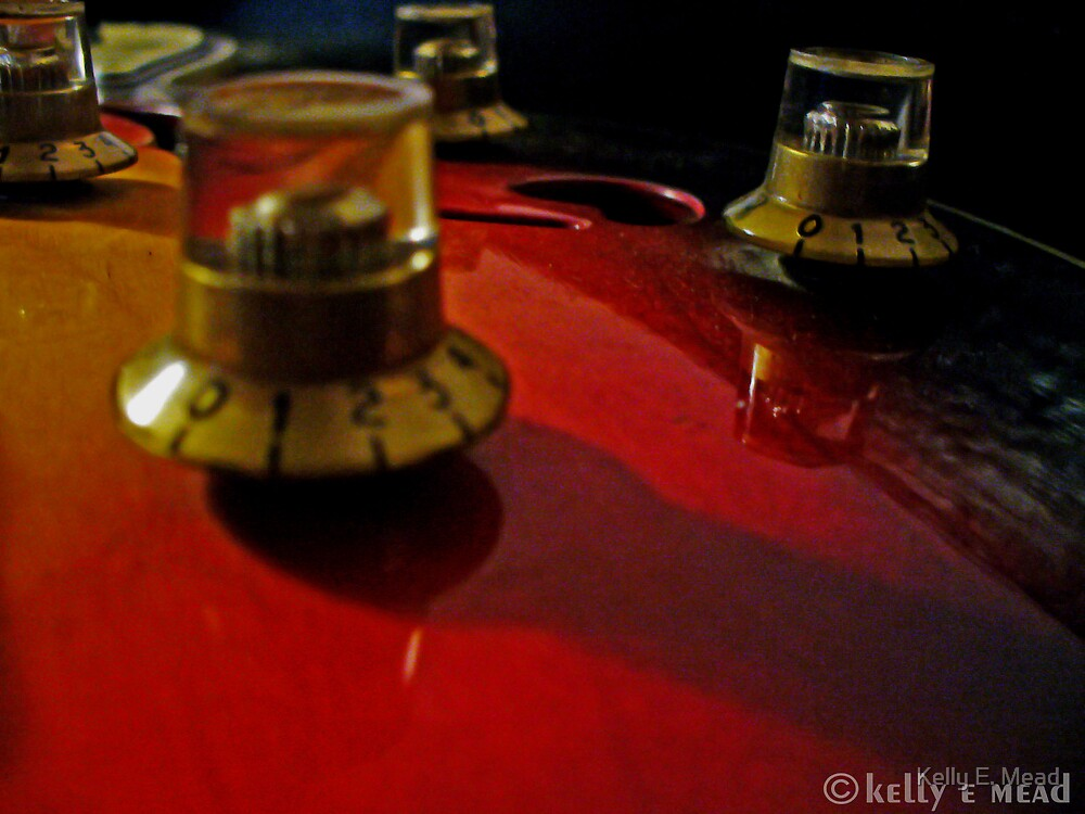 Vintage Guitar by Kelly E. Mead