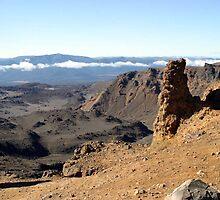 Tongariro Crossing view by Danielle Kennedy Boyd