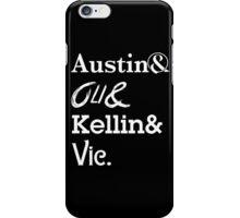 Austin Carlile Oli Skyes Kellin Quinn Vic Fuentes iPhone Case/Skin