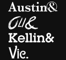Austin Carlile Oli Skyes Kellin Quinn Vic Fuentes by davidmusic