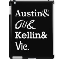 Austin Carlile Oli Skyes Kellin Quinn Vic Fuentes iPad Case/Skin