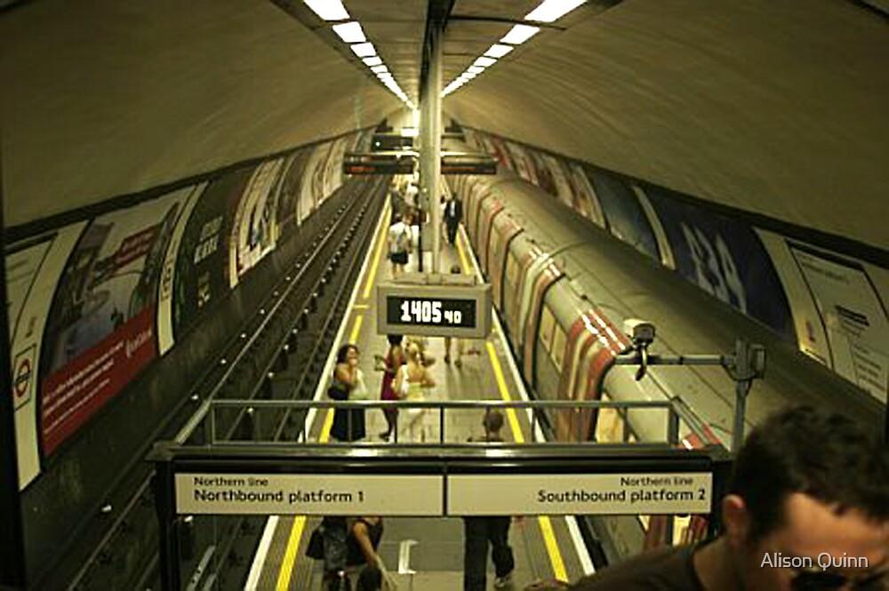 London Tube Station by Alison Quinn