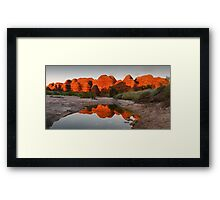 Domes  of Fire Framed Print