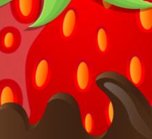 Chocolate Covered Strawberry  Sticker