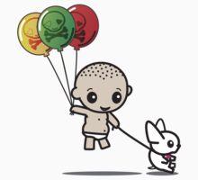 Balloon Balance by mikoto