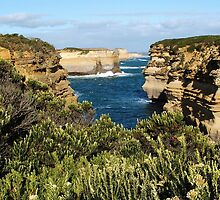 Port Campbell National Park - Cliffs by BevB