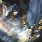 Water Dragon Rainbow by Cliff Vestergaard