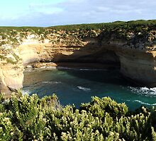 Port Campbell National Park - Cliffs ll by BevB