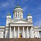 Helsinki Cathedral, Finland by Carole-Anne